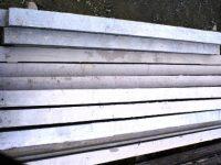 vibracrete poles stack pile