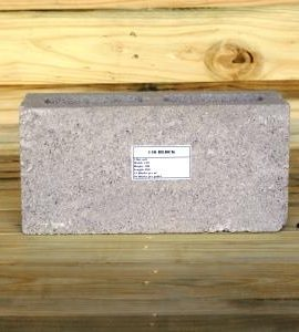 cement building block size 140