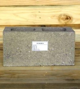 cement building block size 190