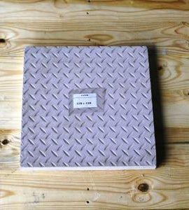vibracrete checker plate paver 450mm x450mm
