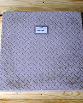 vibracrete checker plate paver 600mm x 600mm